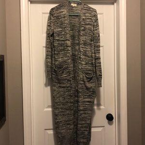 Umgee medium lightweight duster cardigan